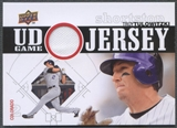 2010 Upper Deck #TT Troy Tulowitzki UD Game Jersey
