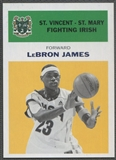 2011/12 Fleer Retro #LJ5 LeBron James 1961-62 Yellow