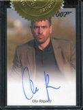 James Bond Autographs and Relics Ola Rapace (Patrice/Skyfall) Autograph Card (Rittenhouse 2013)
