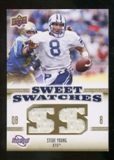 2010 Upper Deck Sweet Spot Sweet Swatches #SSW71 Steve Young