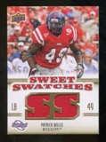 2010 Upper Deck Sweet Spot Sweet Swatches #SSW75 Patrick Willis