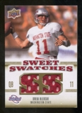 2010 Upper Deck Sweet Spot Sweet Swatches #SSW76 Drew Bledsoe