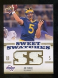 2010 Upper Deck Sweet Spot Sweet Swatches #SSW77 Joe Flacco