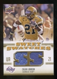 2010 Upper Deck Sweet Spot Sweet Swatches #SSW9 Calvin Johnson