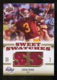 2010 Upper Deck Sweet Spot Sweet Swatches #SSW10 Carson Palmer