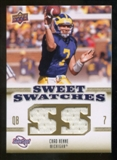2010 Upper Deck Sweet Spot Sweet Swatches #SSW11 Chad Henne