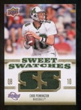 2010 Upper Deck Sweet Spot Sweet Swatches #SSW12 Chad Pennington