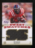 2010 Upper Deck Sweet Spot Sweet Swatches #SSW62 Mike Wallace