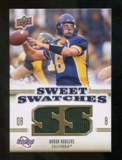 2010 Upper Deck Sweet Spot Sweet Swatches #SSW55 Aaron Rodgers