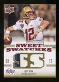 2010 Upper Deck Sweet Spot Sweet Swatches #SSW58 Matt Ryan