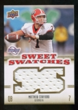 2010 Upper Deck Sweet Spot Sweet Swatches #SSW59 Matthew Stafford