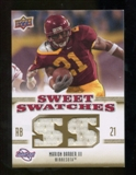 2010 Upper Deck Sweet Spot Sweet Swatches #SSW52 Marion Barber