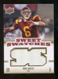 2010 Upper Deck Sweet Spot Sweet Swatches #SSW53 Mark Sanchez