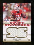2010 Upper Deck Sweet Spot Sweet Swatches #SSW46 Knowshon Moreno