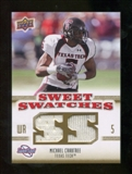 2010 Upper Deck Sweet Spot Sweet Swatches #SSW47 Michael Crabtree