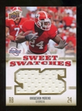 2010 Upper Deck Sweet Spot Sweet Swatches #SSW45 Knowshon Moreno
