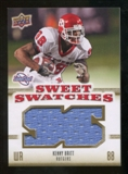 2010 Upper Deck Sweet Spot Sweet Swatches #SSW43 Kenny Britt