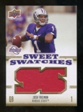 2010 Upper Deck Sweet Spot Sweet Swatches #SSW42 Josh Freeman