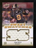 2010 Upper Deck Sweet Spot Sweet Swatches #SSW37 Jeremy Maclin