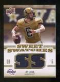 2010 Upper Deck Sweet Spot Sweet Swatches #SSW35 Jay Cutler