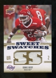 2010 Upper Deck Sweet Spot Sweet Swatches #SSW22 Donnie Avery
