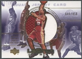 2003 Upper Deck #LBEC LeBron James Employee Jersey #045/450
