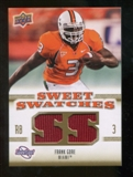 2010 Upper Deck Sweet Spot Sweet Swatches #SSW27 Frank Gore