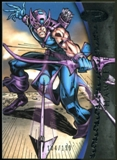 2012 Upper Deck Marvel Premier #10 Hawkeye /199