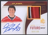 2010/11 SP Authentic #295 Jeff Skinner Limited Rookie Auto Patch #024/100