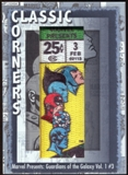 2012 Upper Deck Marvel Premier Classic Corners #CC28 Marvel Presents/ Guardians of The Galaxy #3 B