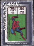 2012 Upper Deck Marvel Premier Classic Corners #CC30 The Amazing Spider-Man #200 B