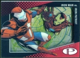 2012 Upper Deck Marvel Premier Shadowbox #S13 Iron Patriot/Iron Man D