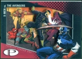 2012 Upper Deck Marvel Premier Shadowbox #S40 The Avengers/X-Men C
