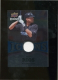 2009 Upper Deck Icons Icons Jerseys #AR Alex Rios