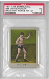 "1911 Abe ""Kid"" Goodman Prize Fight Series #101 PSA 3 (VG) *5533"