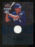 2009 Upper Deck Icons Icons Jerseys #CT Corey Hart