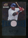 2009 Upper Deck Icons Icons Jerseys #DO David Ortiz