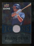 2009 Upper Deck Icons Icons Jerseys #JF Jeff Francoeur