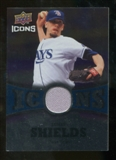 2009 Upper Deck Icons Icons Jerseys #JS James Shields