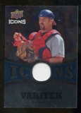 2009 Upper Deck Icons Icons Jerseys #JV Jason Varitek
