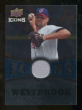 2009 Upper Deck Icons Icons Jerseys #JW Jake Westbrook