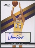 2008/09 Topps Signature #TSAJW Jerry West Auto #267/649