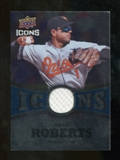 2009 Upper Deck Icons Icons Jerseys #BR Brian Roberts