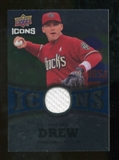 2009 Upper Deck Icons Icons Jerseys #SD Stephen Drew