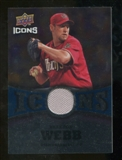 2009 Upper Deck Icons Icons Jerseys #WB Brandon Webb