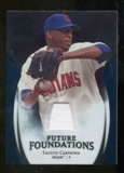 2009 Upper Deck Icons Future Foundations Jerseys #FC Fausto Carmona