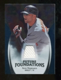 2009 Upper Deck Icons Future Foundations Jerseys #NM Nick Markakis