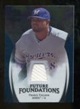 2009 Upper Deck Icons Future Foundations Jerseys #PF Prince Fielder