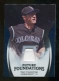 2009 Upper Deck Icons Future Foundations Jerseys #TT Troy Tulowitzki