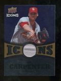 2009 Upper Deck Icons Icons Jerseys Gold #CC Chris Carpenter /25